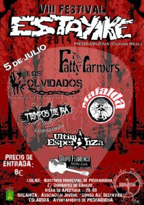 The Fatty Farmers en el Estayike Festival